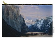 Moonrise Over Yosemite National Park Carry-all Pouch