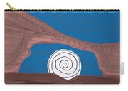 Moonscape Original Painting Carry-all Pouch