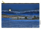 Moonset Over Cooney Carry-all Pouch