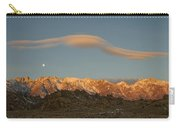 Moonset Over Mt Whitney Img 0637 Carry-all Pouch