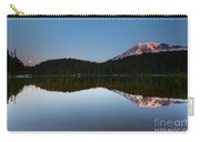 Moonset Over Rainier Carry-all Pouch