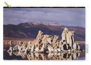 Moonset Over Tufa Carry-all Pouch