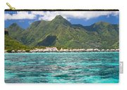 Moorea Lagoon No 2 Carry-all Pouch