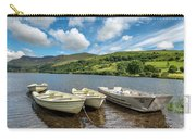 Moored Boats  Carry-all Pouch by Adrian Evans