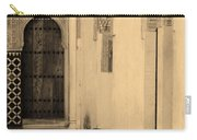 Moorish Walkway In Sepia At The Alhambra Carry-all Pouch
