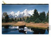 Moose & Beaver Pond Grand Teton Carry-all Pouch