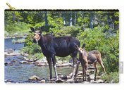 Moose And Baby 4 Carry-all Pouch