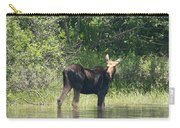 New Hampshire Grazing Cow Moose  Carry-all Pouch