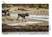 Moose Crossing River No. 1 - Grand Tetons Carry-all Pouch