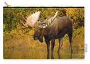 Moose In Glacial Kettle Pond  Carry-all Pouch