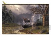 Moose In The Adirondacks Carry-all Pouch