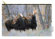 Moose Meeting Carry-all Pouch