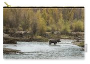 Moose Mid-stream - Grand Tetons Carry-all Pouch