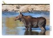 Moose On The  Gros Ventre River Carry-all Pouch