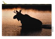 Moose Silhouette 3569   Carry-all Pouch