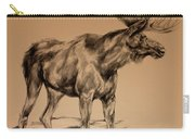 Moose Sketch Carry-all Pouch