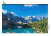 Moraine Lake At Banff National Park Carry-all Pouch