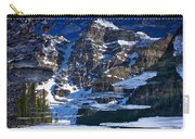 Moraine Lake Reflection Abstract Carry-all Pouch