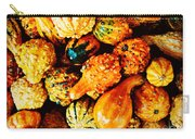 More Beautiful Gourds - Heralds Of Fall Carry-all Pouch