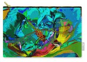 More Dragonfly Art Carry-all Pouch