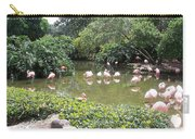 More Pink Flamingos Carry-all Pouch
