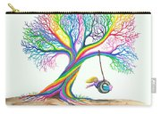 More Rainbow Tree Dreams Carry-all Pouch