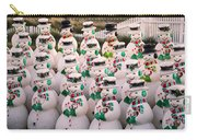 More Snowmen Carry-all Pouch