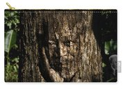 Morgan Freeman Roots Digital Painting Carry-all Pouch by Georgeta Blanaru