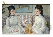 Morisot's The Sisters Carry-all Pouch