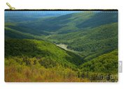 Moormans River Overlook In Spring Carry-all Pouch