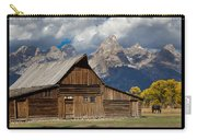 Mormon Row Poster Carry-all Pouch