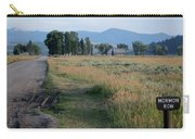 Mormon Row Road Carry-all Pouch