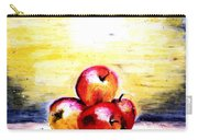 Morning Apples Carry-all Pouch