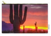 Morning Arizona Style  Carry-all Pouch