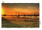Morning Arrives At Foxfire  Carry-all Pouch