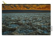 Morning At Badwater Carry-all Pouch