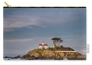 Morning At Battery Point Lighthouse Carry-all Pouch