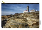 Morning At Beavertail Lighthouse Carry-all Pouch