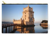 Morning At Belem Tower In Lisbon Carry-all Pouch