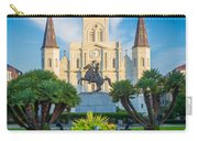 Morning At Jackson Square Carry-all Pouch