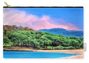 Morning At Papohaku Beach  Carry-all Pouch