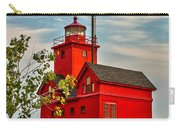 Morning At The Big Red Lighthouse Carry-all Pouch