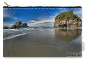 Morning Beach Reflections Carry-all Pouch