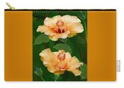 Morning Blooms - Hibiscus Carry-all Pouch
