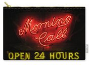 Morning Call Neon - New Orleans La Carry-all Pouch