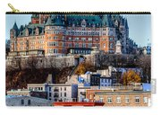 Morning Dawns Over The Chateau Frontenac Carry-all Pouch