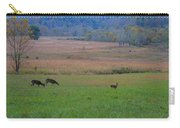Morning Deer In Cades Cove Carry-all Pouch