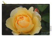 Morning Dew Rose Carry-all Pouch