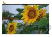Morning Field Of Sunflowers Carry-all Pouch