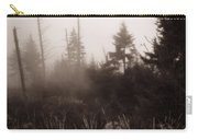 Morning Fog In The Smoky Mountains Carry-all Pouch by Dan Sproul